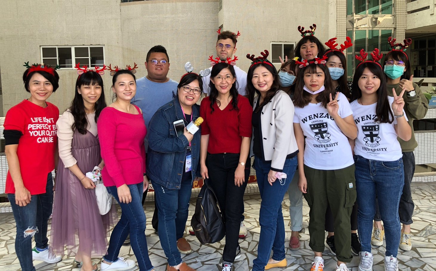 12/29/2020 Spice English up! College of English & International Studies of Wenzao Works with Lunghua Junior High School on English Teaching Program